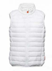 Save The Duck gilet bianco