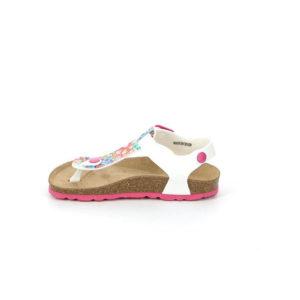 Sandalo infradito floreale