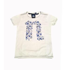 T-shirt con stampa stilizzata
