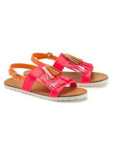 Billieblush sandali con frange